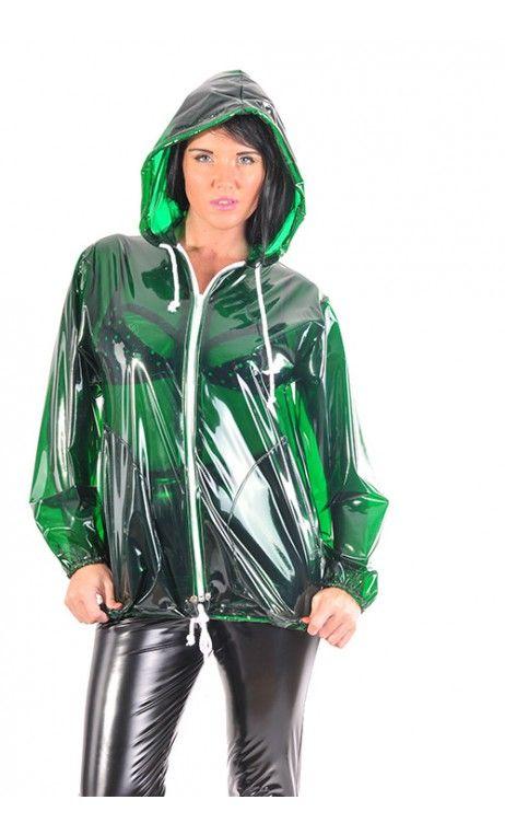PVC női dzseki