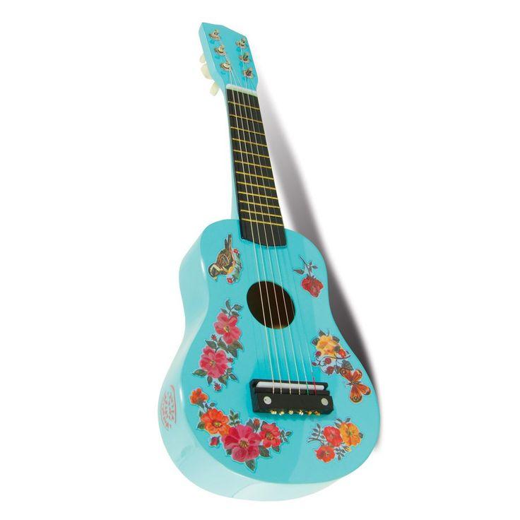 Harlequin guitar. http://www.frenchblossom.com/musical-toys/645-blue-guitar-for-children.html