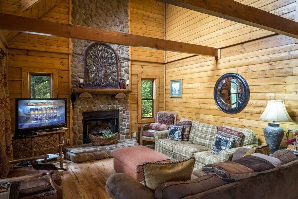 2 Cubs Cabin - Cabin rentals in NC, NC cabin rentals, cabins in Boone NC
