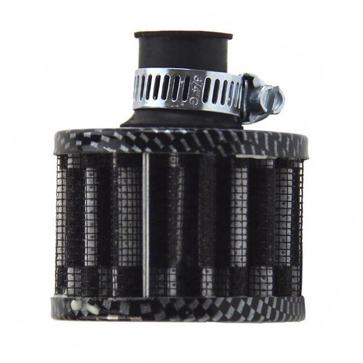 12mm Carbon Car Motor Cold Air Intake Filter Turbo Vent Crankcase Breather Auto Filter Cleaner High Quality