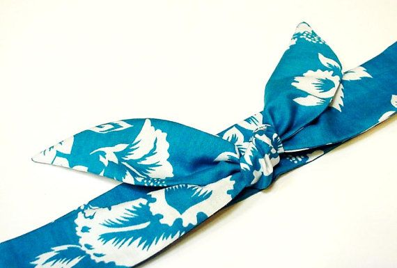 Turquoise Hibiscus Cooling Headband Gel Neck Cooler by iycbrand, $9.99
