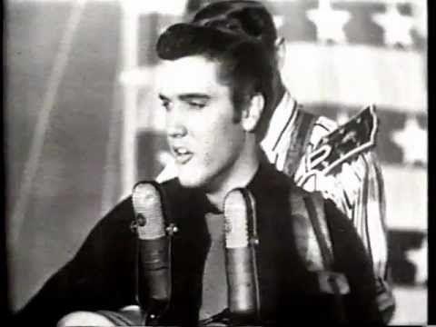 Elvis Presley - Heartbreak Hotel (Milton Berle Show) - YouTube