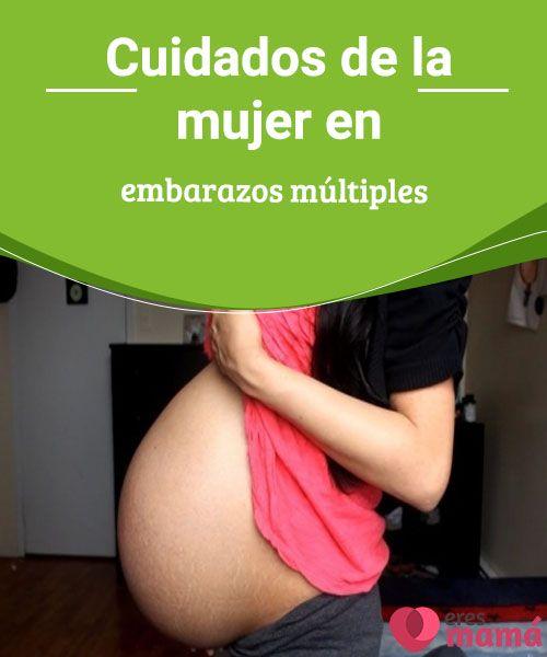 Cuidados de la mujer en embarazos múltiples  Embarazos múltiples:Todas las madres queremos tener un cuerpo, una mente y unos bebés sanos. Conoce aqui todo sobre los cuidados que se deben seguir.