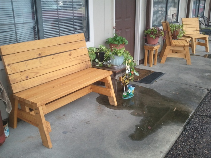 Simple, Strong, Comfortable Sitting Benches   Jays Custom ...