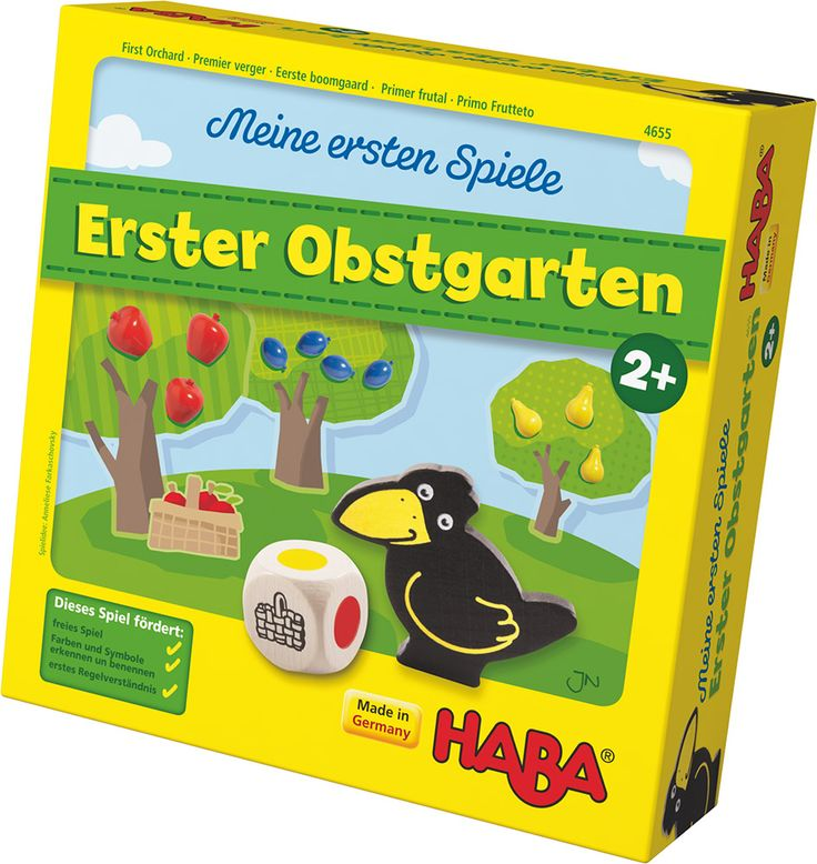 HABA Meine ersten Spiele Erster Obstgarten » Brettspiele - Jetzt online kaufen   windeln.de