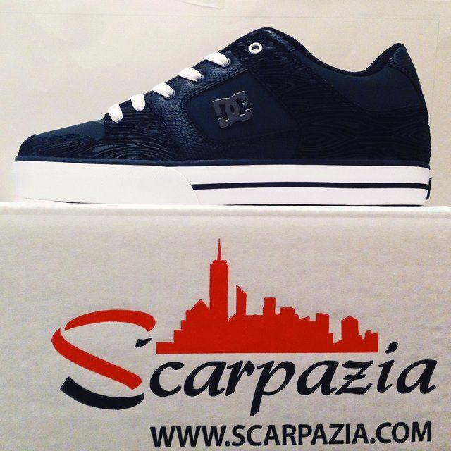 By @scarpazia http://www.scarpazia.com Scarpe DC Pure XE Grey Black Grey