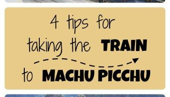 4 tips for taking the train to Machu Picchu