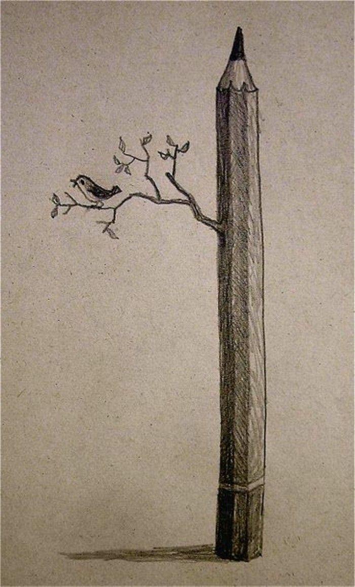Zeichnen Lernen Mit Bleistift Selbst Kunst Schaffen Her şeye