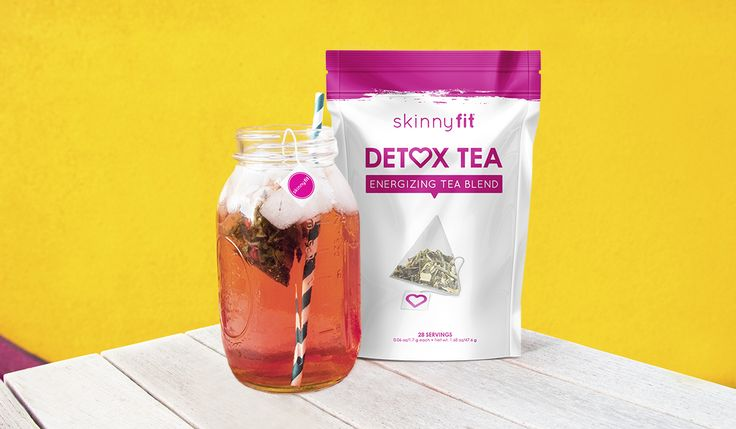 how to use skinny fit detox tea