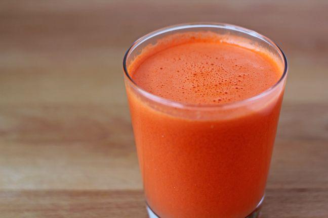 Ginger Orange Carrot Juice