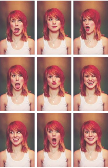 The many faces of Hayley Williams
