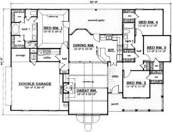 Cheap House Plans 20 031ch 1f 120821 house plan small affordable house plans and simple house floor plans small Ideas About Affordable House Plans On Pinterest Floor