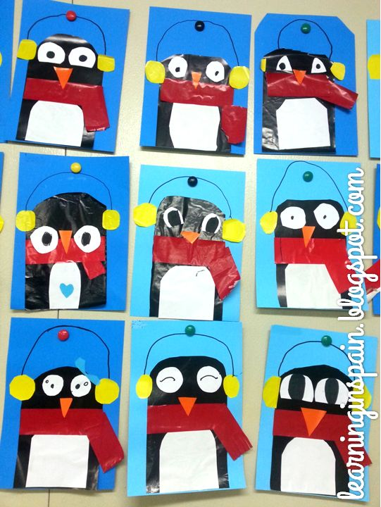 Penguins collage