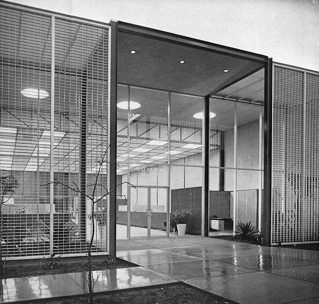 Craig Ellwood - South Bay Bank, Manhattan Beach, CA (1955-58)