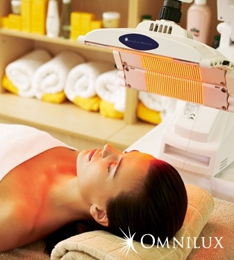 Omnilux LED therapy - heaven for my face!