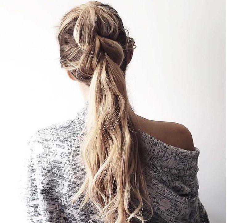 Pimped ponytail