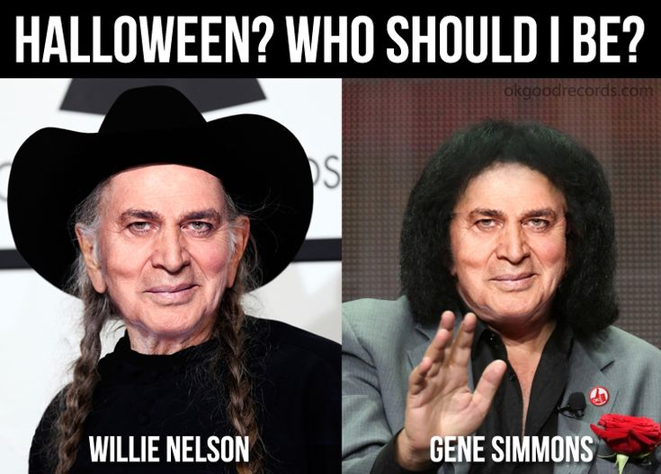 Happy Hump Day!  - http://www.okgoodrecords.com/blog/2014/10/29/happy-hump-day-9/ -  Happy Hump Day everyone! Halloween is just a few days away. Can you help The Hump decide on his costume?   - banner, engelbert, Engelbert Humperdinck, Gene Simmons, halloween, happy hump day, hump day, humperdinck, Meme, willie nelson