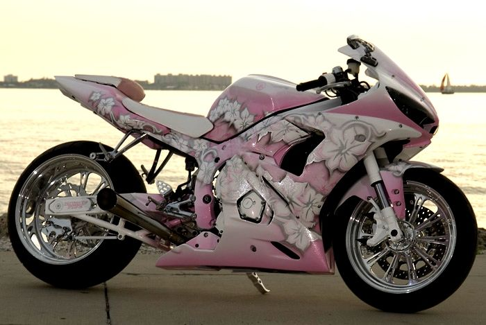 Motorcycles and Pink - Motorcycle Forum