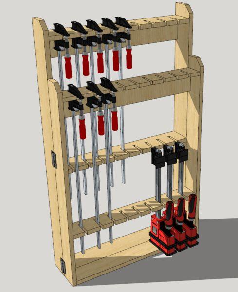 rack a serre en bois de palette par l 39 atelier vosgien. Black Bedroom Furniture Sets. Home Design Ideas