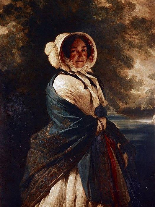 Виктория, герцогиня Кентская (1786-1861). Франц Ксавьер Винтерхальтер
