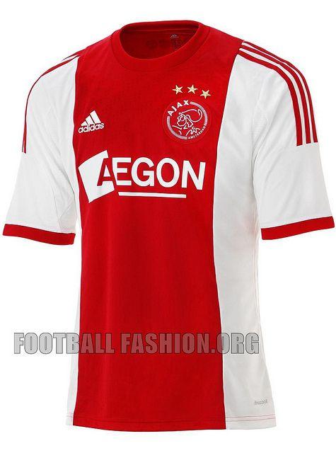 Ajax Amsterdam 2013/14 adidas Home Kit