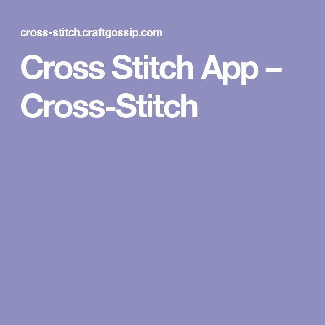 Cross Stitch App – Cross-Stitch