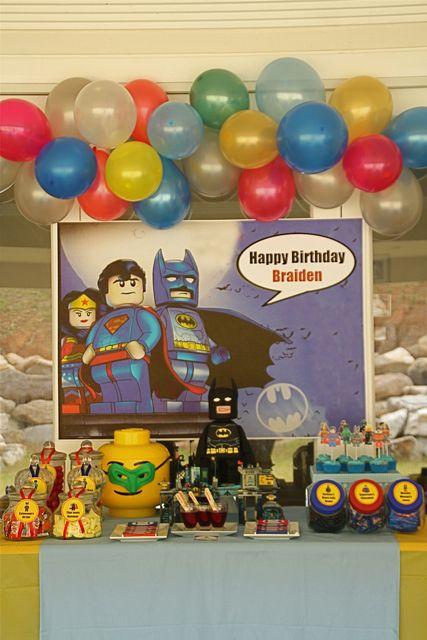 Braiden's Lego SuperHero Party