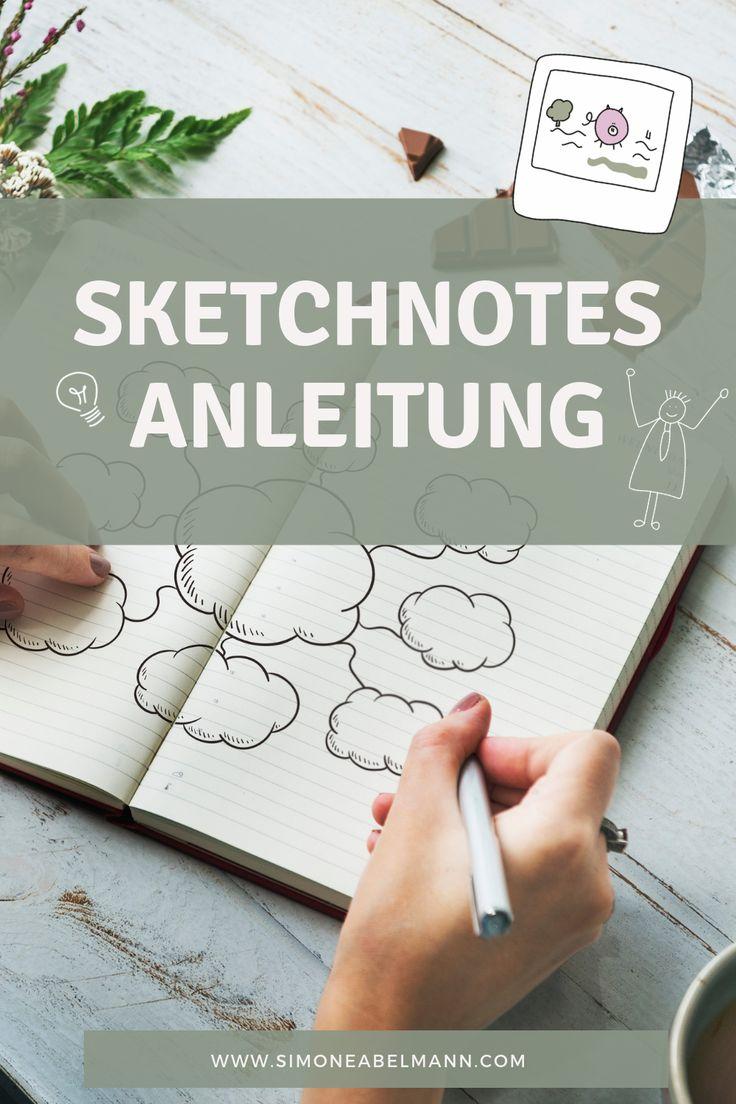 Worauf kommt es an, wenn du Sketchnotes zeichnen w…