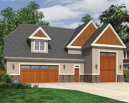 Plan 69466am perfect for rv house plans cars and boats for Rv garage doors for sale