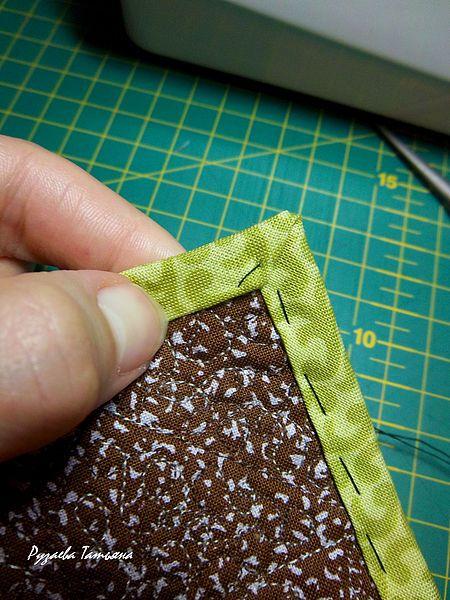 Esquina de la costura(bordes)