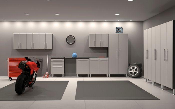 1001 Exemples D Amenagement Garage Fonctionnel Amenagement Garage Meubles De Rangement Interieur De Garage