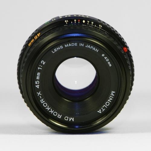 Minolta MD Rokkor 45mm f/2.0