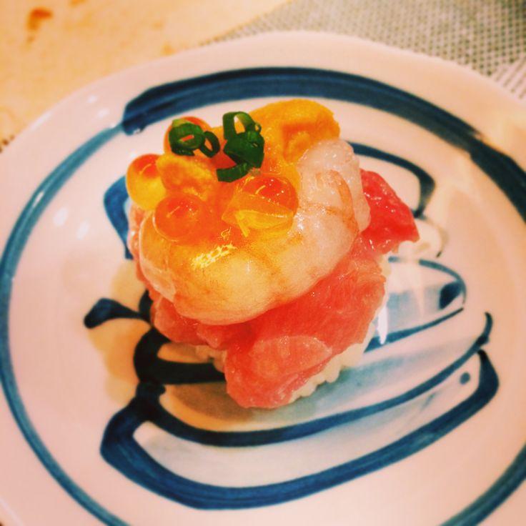 Salmon sub sushi - Akita
