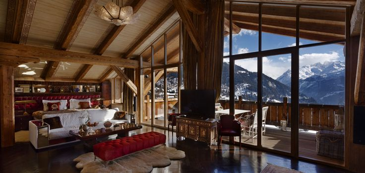 www.ikh-luxuryrental.com  A truly exceptional alpine residence, Chalet Truffe Blanche is a vision of grandeur and elegance. Occupying one of Verbier′s most exclusive address′s this uber luxurious chalet will not fail to disappoint.
