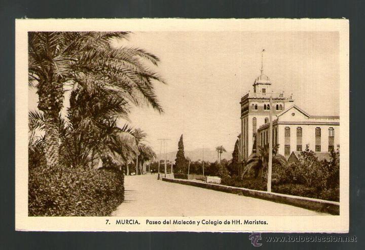 Murcia paseo del malec n y colegio de hh maristas for Colegio de aparejadores de murcia
