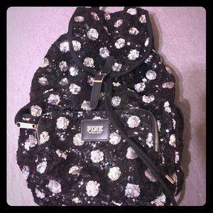 RARE Victoria Secret Sequins Backpack!!