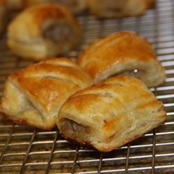 Recept voor Mini saucijzenbroodjes