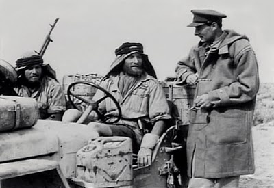 Field Marshal Montgomery with SAS Jeep