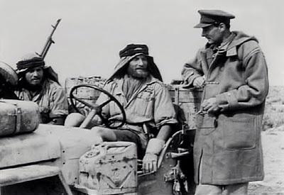 Field Marshal Montgomery with SAS Jeep