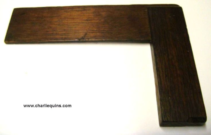 THINGS FOR SALE: Vintage Woodworking Tools Old Wooden Set Square 016