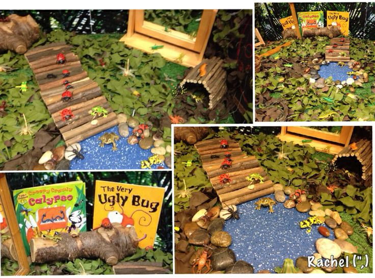 "Minibeasts in the small world... from Rachel ("",)"