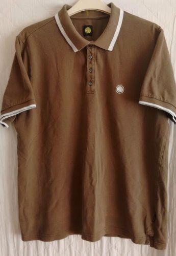 PRETTY-GREEN-mens-pique-polo-shirt-size-Medium-Large