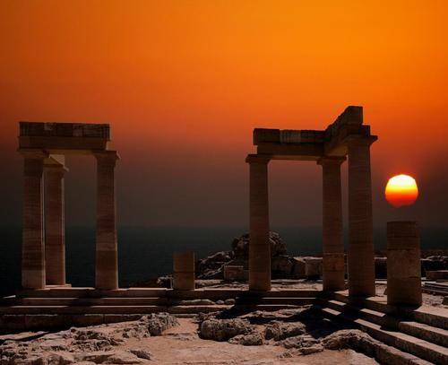 Ακρόπολη της Λίνδου ~ The Akropolis of Lindos, Rhodes  TBoH