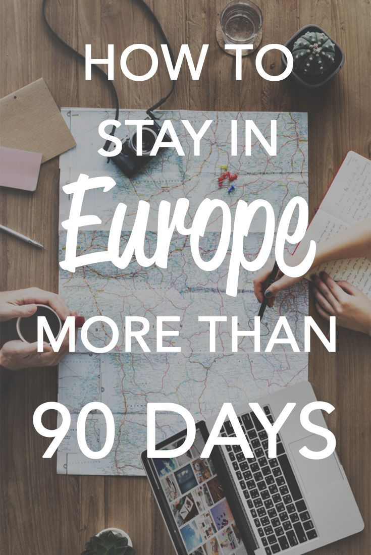 Heading to Europe soon? You don't have to leave after 90 days. It saved us a lot of trouble. We had time to explore and enjoy our trip.   #Vacation #Europe #Family #Wanderlust
