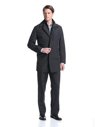 74% OFF Sanyo Men's Crosby 3-in-1 Trend Coat (Black)