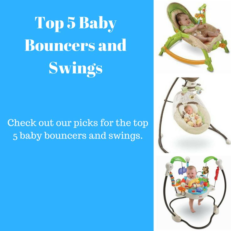 Top 5 Baby Bouncers and Jumpers. Looking for the best baby bouncers and swings? You have found the right place! Below you will find our picks for the top 5 bouncers and swings.
