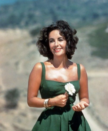 """Liz  Taylor:""""I don't think of myself as beautiful, I never have."""" On the set of Suddenly Last Summer, 1959"""