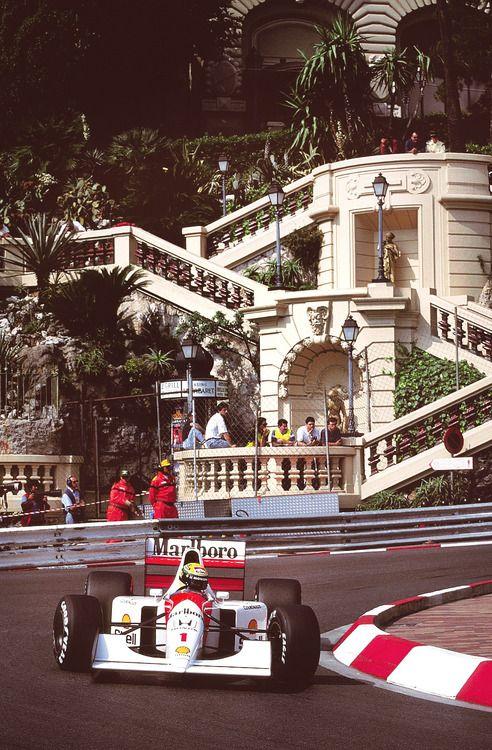 #Senna #Mónaco