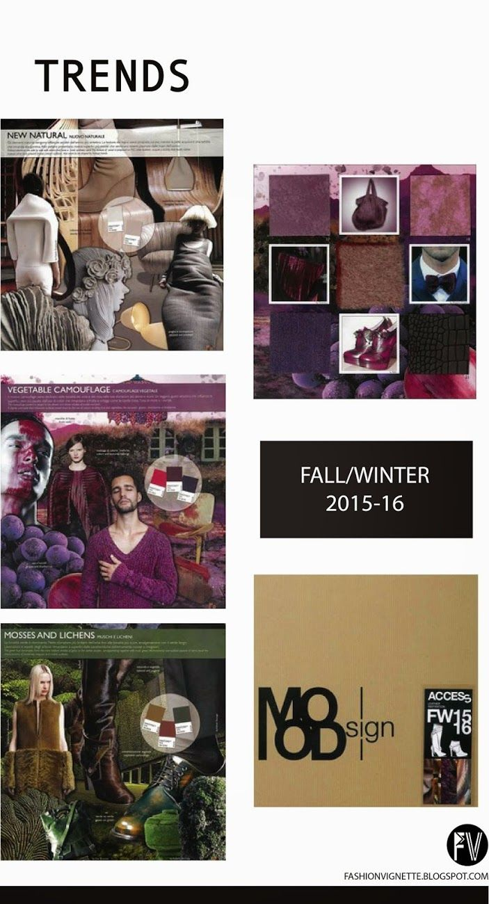 Color trends in 2015 - Fashion Vignette A W Love These Moody But Not Sexualized Looks Thamk Goodness The Slutty Aughts Are Finally Over