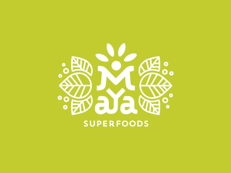 Maya Superfoods by Jared Jacob #Design Popular #Dribbble #shots